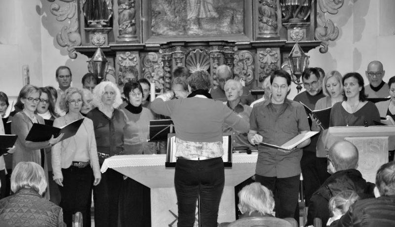 Chorkonzert SoAlBaTe in der Elteraner Kirche