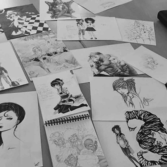 Mangas zeichnen
